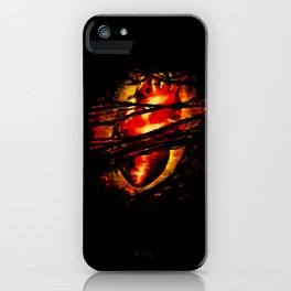 Heart of Fire iPhone Case