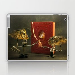 Fish and red book about fish Laptop & iPad Skin
