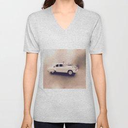 1952 Deluxe Chevy Belaire Hotrod Unisex V-Neck