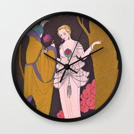 George Barbier Coromandel c1932 Wall Clock
