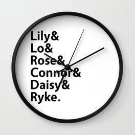 Addicted Series Gang White Wall Clock