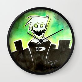 Phantom Gone Bad Wall Clock