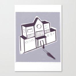 Unhaunted Mansion Canvas Print