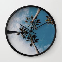 Palm Tree Summer Fun Wall Clock
