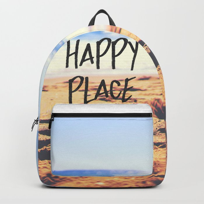 Happy Place Beach Backpack