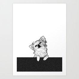 """SlowBoogie"" | Chihuahua Art Print"
