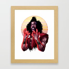 Shonuff Framed Art Print