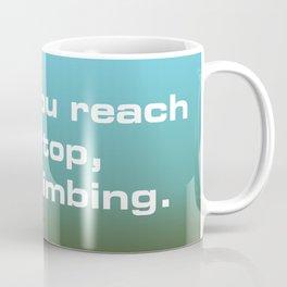 Reach the Top Coffee Mug