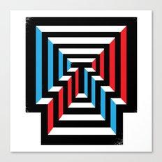 [T] Canvas Print