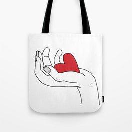 I give you my love Tote Bag