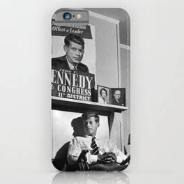 John F Kennedy iPhone Case