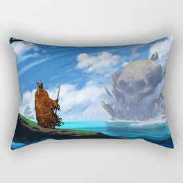 Skull Island Rectangular Pillow