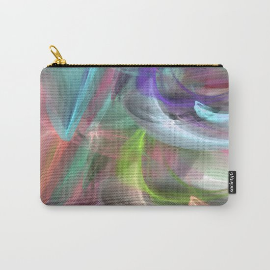 colorful smoke 1 Carry-All Pouch