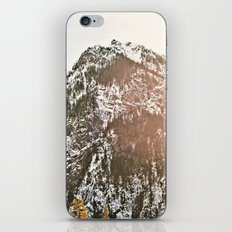 Snowy Mountain Peak in the Sun iPhone & iPod Skin