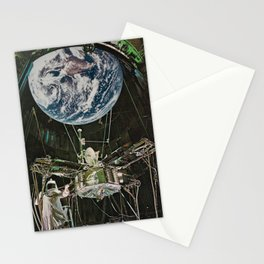 The Man-Made Planet Stationery Cards