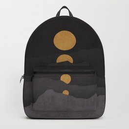 Rise of the golden moon Backpack