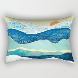 Winter Afternoon Rectangular Pillow