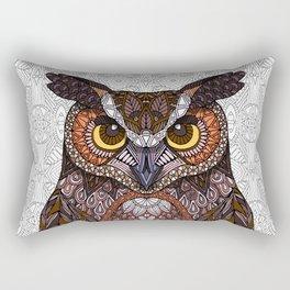 Great Horned Owl 2016 Rectangular Pillow