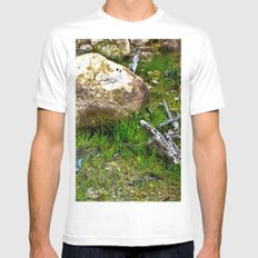 The Amazon Rock - Amazon, Brazil White SMALL Mens Fitted Tee