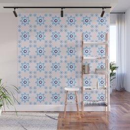 Blue flower 2 Wall Mural