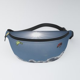 kite surf in the sunshine Fanny Pack