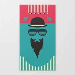 Hipster Style Canvas Print