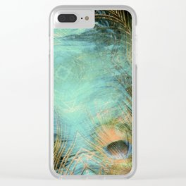Fantasy Eyes Clear iPhone Case