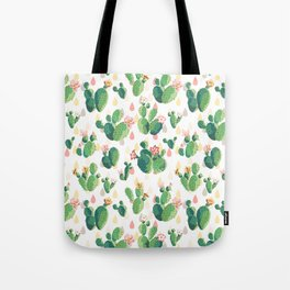 Cactus pattern Tote Bag
