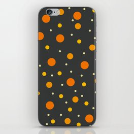 Classic Retro Dots 12 iPhone Skin