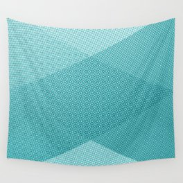 COOL HALFTONE Wall Tapestry