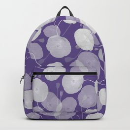 Ultra Violet Floral Abstract. Pantone Color of the Year 2018 Backpack