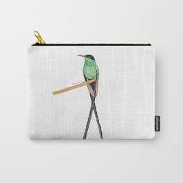 Long Tail Humming bird Carry-All Pouch