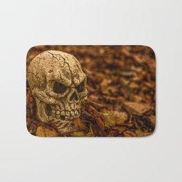 Halloween Skull 1 Bath Mat