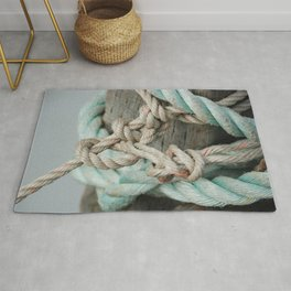 TIED TO THE MOORING #1 Rug