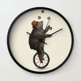 The Juggler (color option) Wall Clock