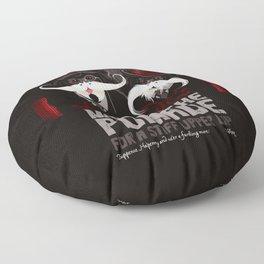 Lestrade's Moustache Pomade Floor Pillow
