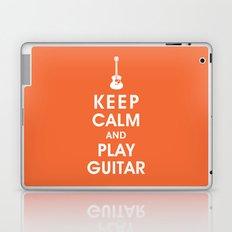 Keep Calm and Play Guitar Laptop & iPad Skin