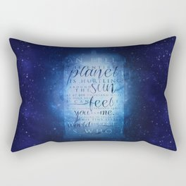 That's who I am   Doctor Who Rectangular Pillow