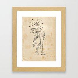 Sketch #10 Framed Art Print