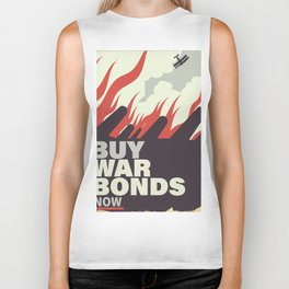 Buy War Bonds now. Biker Tank
