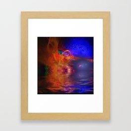 Kalmoz Framed Art Print