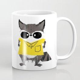Missfits Raccoon Coffee Mug