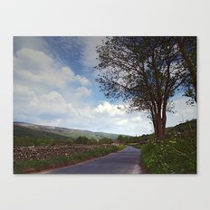 Road to Gunnerside Canvas Print