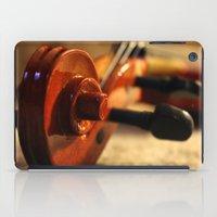 violin iPad Cases featuring Violin by Allan Delph