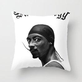 Salva Dogg Throw Pillow