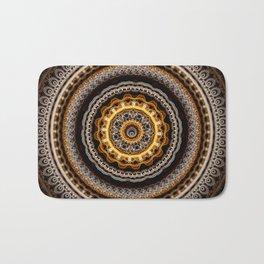 Mandala with tribal patterns Bath Mat