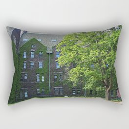 Old West End Mary Manse College Auditorium aka Lois Nelson Theater VII Rectangular Pillow