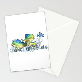Respect the Locals Stationery Cards