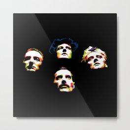Queen band Metal Print