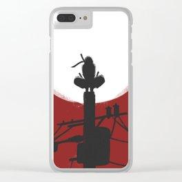 Uchiha Clan Silhouette Clear iPhone Case
